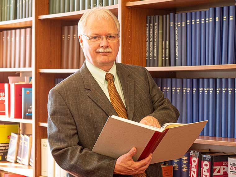 Rechtsanwalt Anton Müller, Baurecht