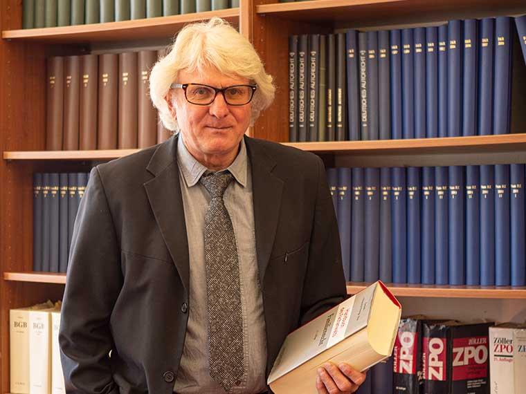 Rechtsanwalt Peter Hitzler, Insolvenzrecht